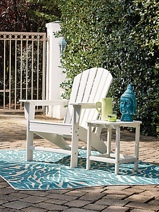 Sundown Treasure Outdoor Chair with End Table, , rollover