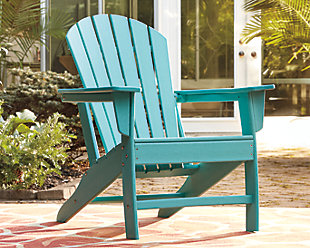 Sundown Treasure Adirondack Chair, Turquoise, rollover
