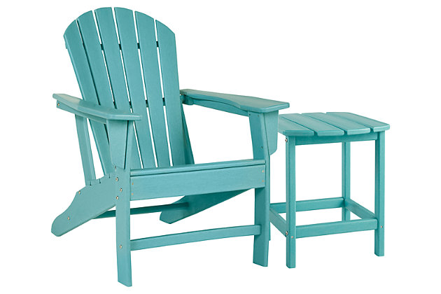 Sundown Treasure Outdoor Chair with End Table, , large