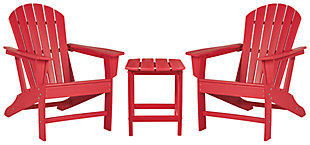 Sundown Treasure 2 Outdoor Chairs with End Table, , large