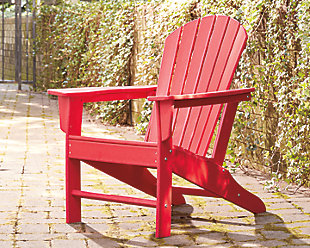 Sundown Treasure Adirondack Chair, Red, rollover