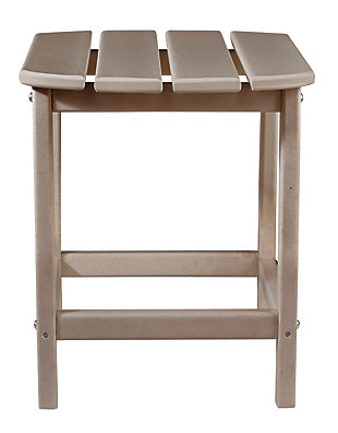 Sundown Treasure End Table, Grayish Brown, large