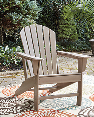 Sundown Treasure Adirondack Chair, Grayish Brown, rollover