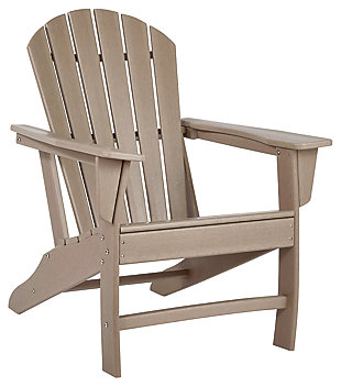 Sundown Treasure Adirondack Chair, Grayish Brown, large