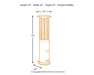 Hatchlands Patio Heater, , large