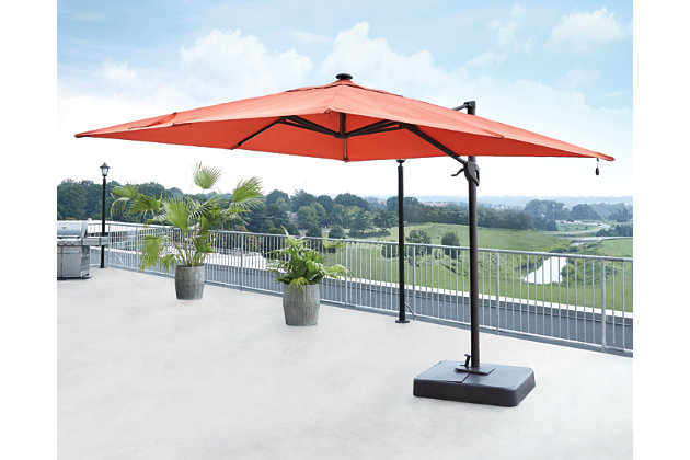 Oakengrove Patio Umbrella by Ashley HomeStore, Orange