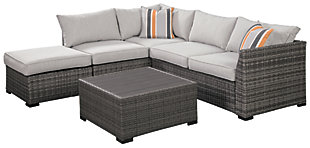 Cherry Point 4-piece Outdoor Sectional Set, , large
