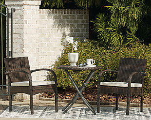 Anchor Lane Outdoor Chairs with Table Set (Set of 3), , rollover