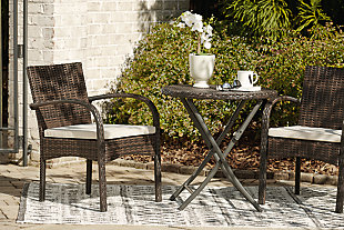 Anchor Lane Outdoor Chairs with Table Set (Set of 3), , large