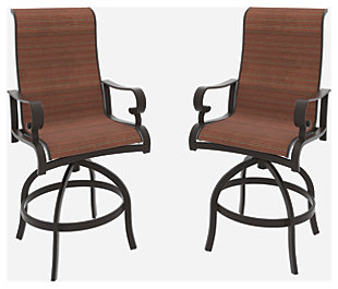 Apple Town Sling Bar Stool (Set of 2), , large