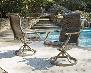 Windon Barn Swivel Chair (Set of 2), , rollover