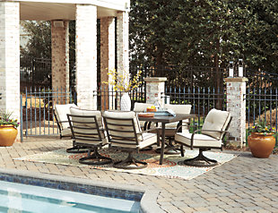 Predmore 7-Piece Outdoor Dining Set, , rollover