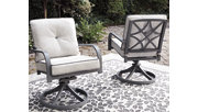 Donnalee Bay Swivel Lounge Chair (Set of 2), , rollover
