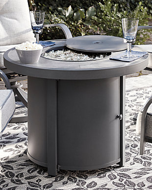 Donnalee Bay Fire Pit Table, , rollover