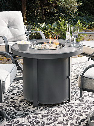Donnalee Bay Fire Pit Table, , large