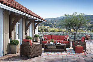 Meadowtown 4-Piece Outdoor Conversation Set, , rollover