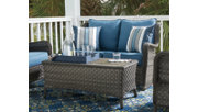 Abbots Court Loveseat Glider with Table, , rollover