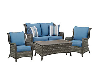 Abbots Court 4-Piece Outdoor Seating Set, , large