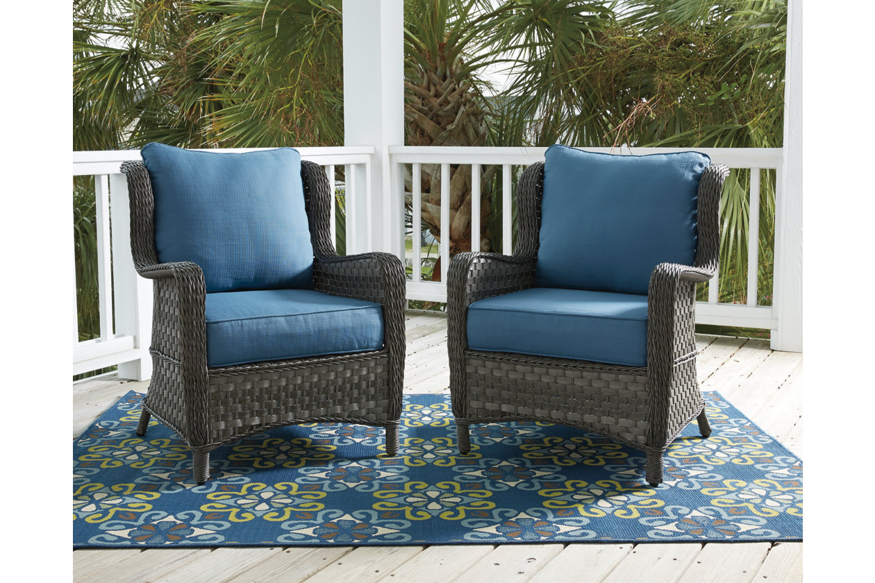 Abbots Court Lounge Chair (Set of 2)   Ashley Furniture