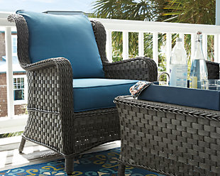 Abbots Court 4-Piece Outdoor Conversation Set, , large