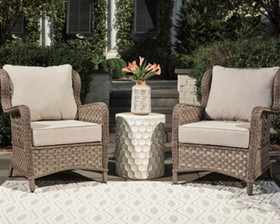 Clear Ridge Lounge Chair with Cushion (Set of 2), , large
