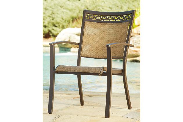 carmadelia sling chair set of 4 ashley furniture homestore