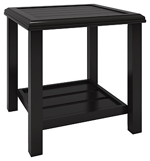 Castle Island Square End Table, , large
