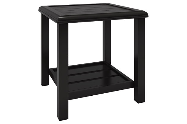 Castle Island End Table, , large