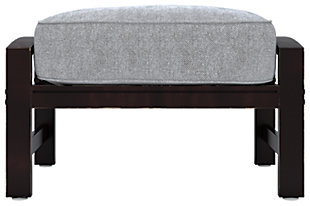 Castle Island Ottoman with Cushion, , rollover