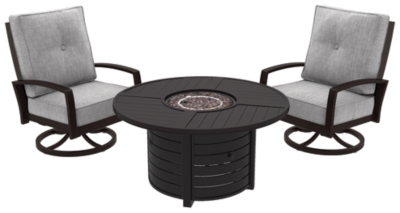 Piece Outdoor Conversation Set Dark Brown Island Product Photo 300