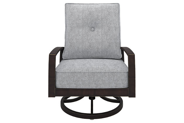 Castle Island Swivel Lounge Chair, , large