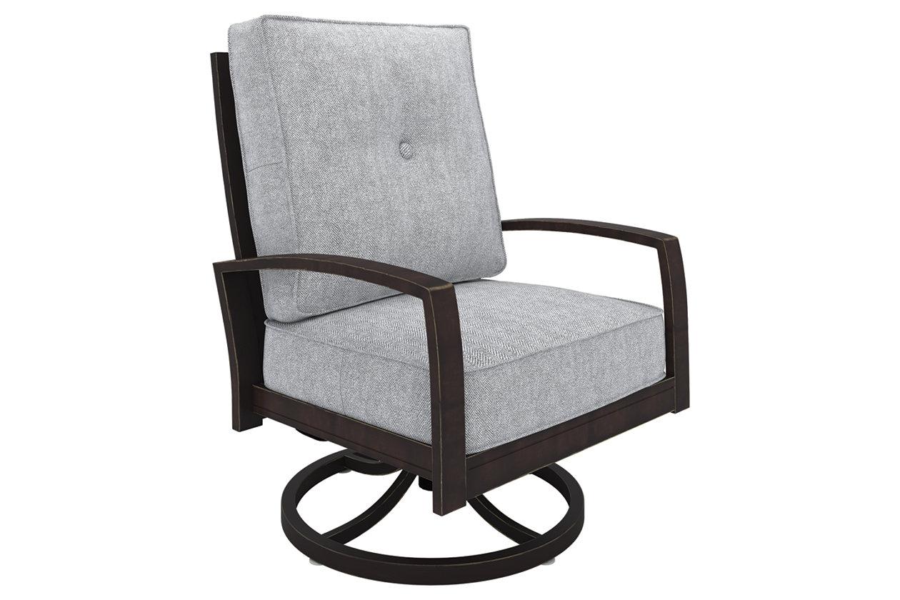Surprising Castle Island Swivel Lounge Chair Ashley Furniture Homestore Machost Co Dining Chair Design Ideas Machostcouk
