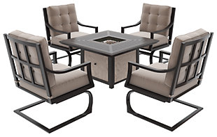 Town Court 5-Piece Outdoor Conversation Set, , rollover