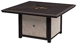 Town Court Fire Pit Table, , large