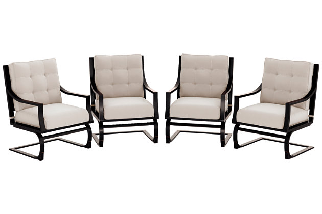 Town Court Spring Lounge Chair (Set of 4), , large