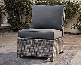 Salem Beach Armless Chair with Cushion, , rollover