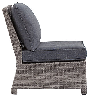 Salem Beach Armless Chair with Cushion, , large