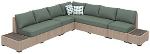Silent Brook 5-Piece Outdoor Sectional, , large