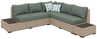Silent Brook 3-piece Outdoor Sectional Set, , large