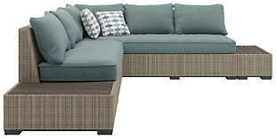 Silent Brook 3-piece Outdoor Sectional Set, , rollover