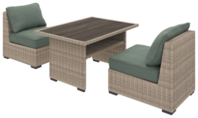 Piece Outdoor Dining Set Beige Brook Product Photo 533