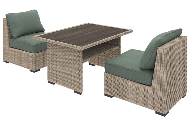 Silent Brook 3-Piece Outdoor Dining Set, , large