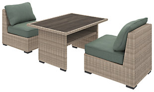 Silent Brook 3-Piece Outdoor Dining Set, , rollover