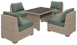 Silent Brook 5-Piece Outdoor Dining Set, , large