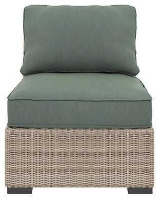 Silent Brook Armless Chair with Cushion, , rollover