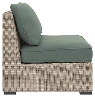 Silent Brook Armless Chair with Cushion, , large