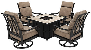Chestnut Ridge 5-Piece Outdoor Conversation Set, , rollover