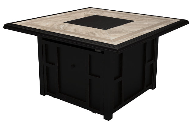 Chestnut Ridge Fire Pit Table, , large