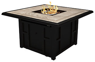 Chestnut Ridge Square Fire Pit Table, , large