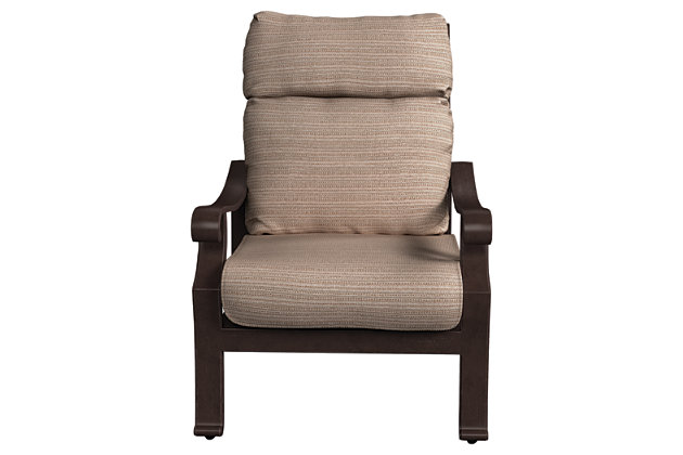 Chestnut Ridge Chair with Cushion, , large